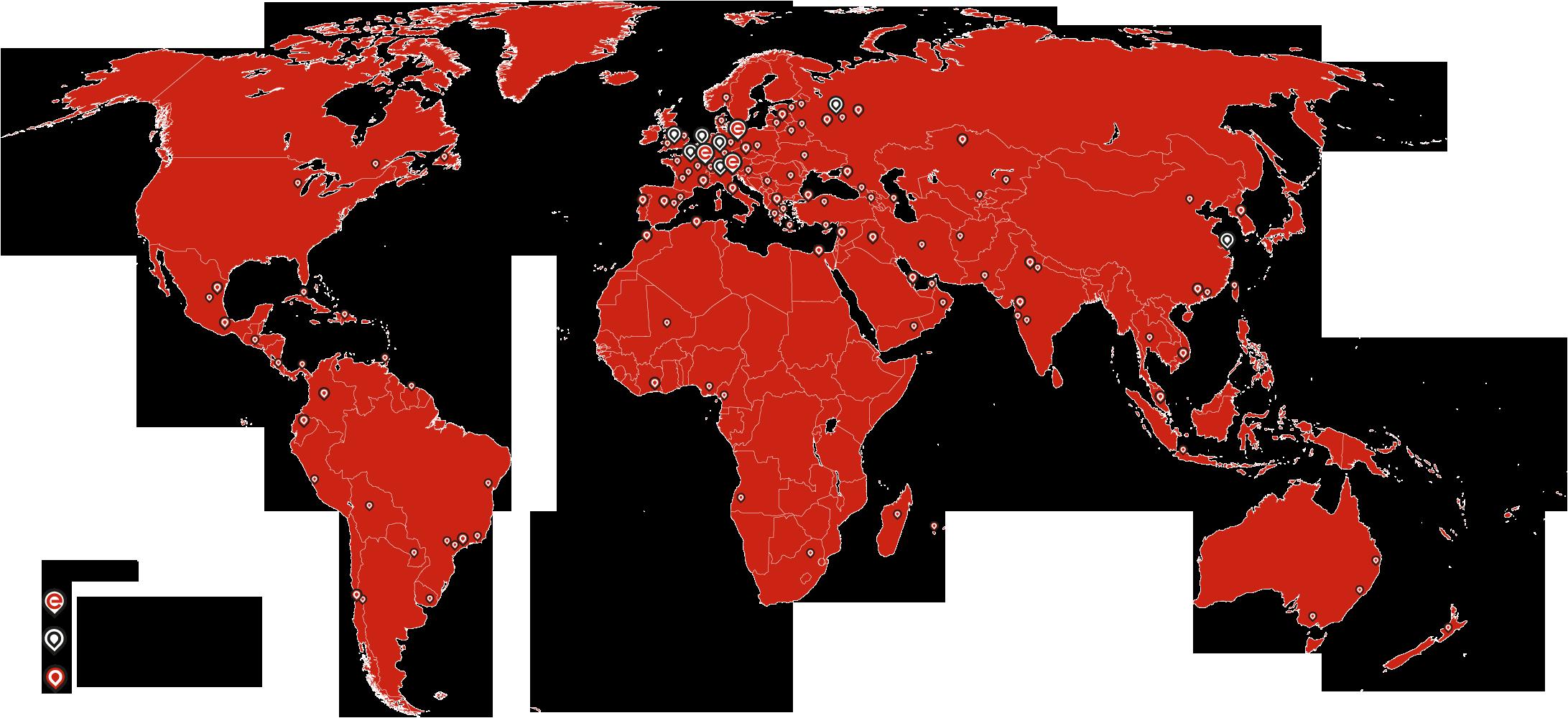 Elco Burners Rete internazionale