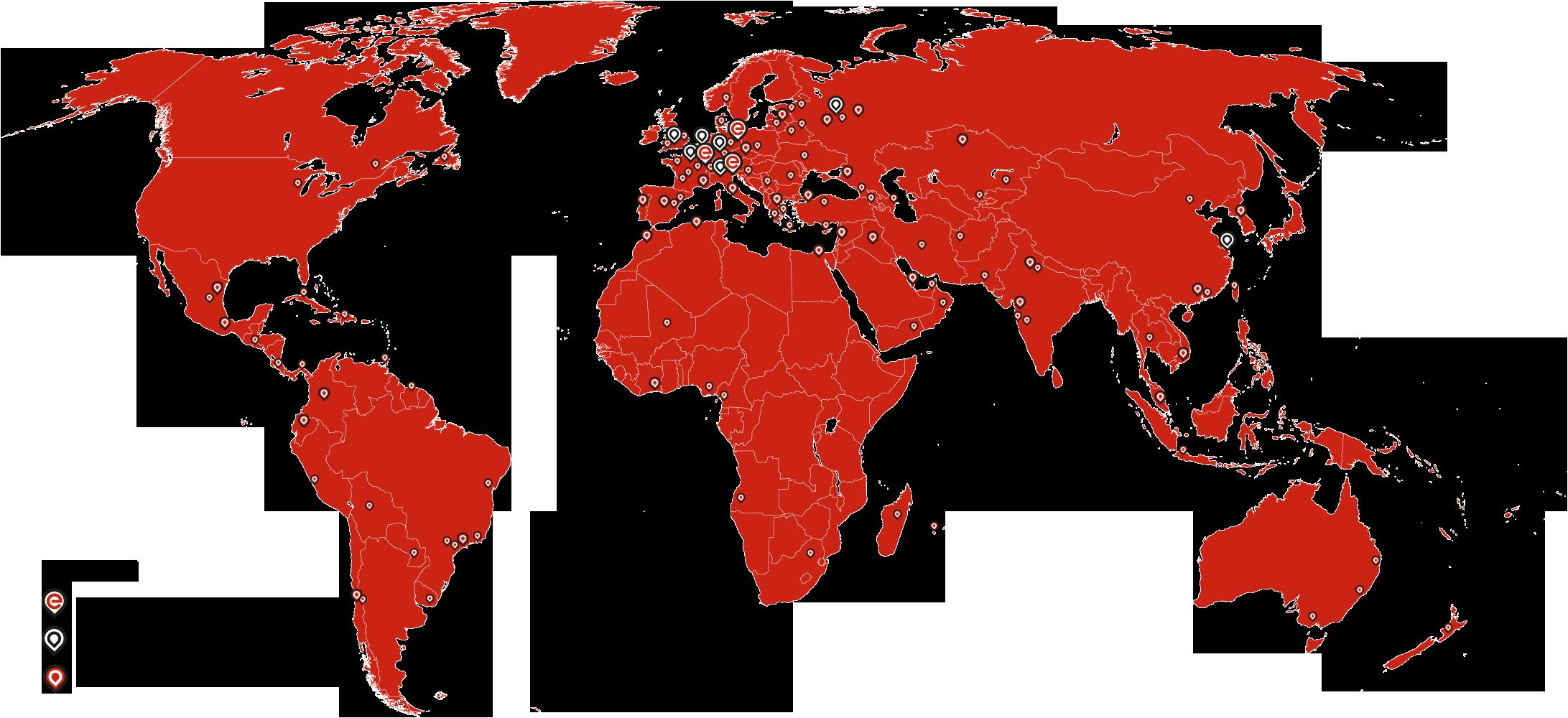 Elco Burners Weltweit Netzwerk