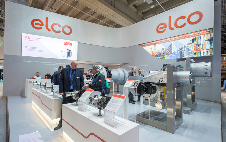 Elco Burners Our Products at ISH Frankfurt 2019 Gallery
