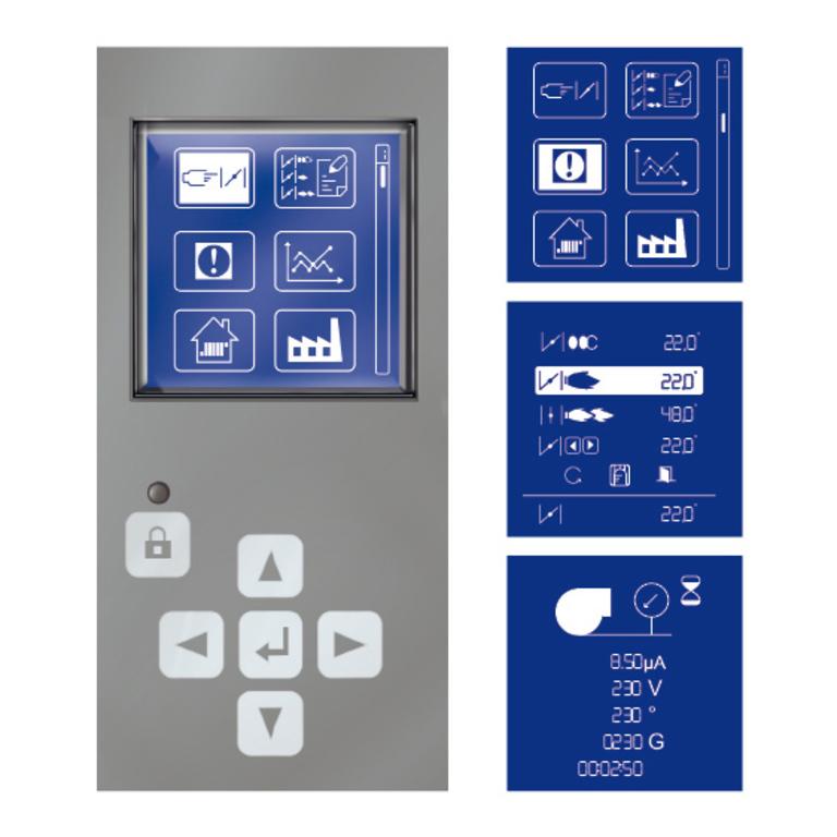 Cuenod Le Système MDE2 (Système électronique à microprocesseur) Gallery DEUX ALLURES ET PROGRESSIF